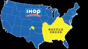 ihop waffle house