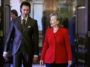 clinton gaddafi
