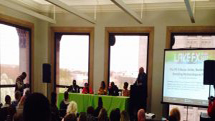 Swank PR host panel discussion on Artist Business and Branding at Lake FX Event in Chicago