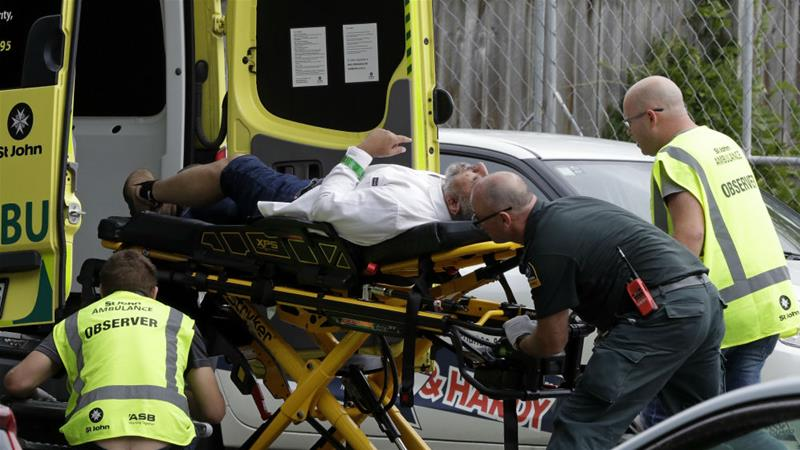Shooter Live Streams Killing of Multiple People at New Zealand Mosque