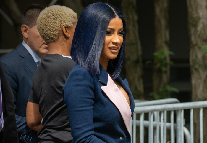"""Cardi B Pleads Not Guilty in Strip Club Case and her Attorney thinks it will """"be Positive Outcome in her Favor"""""""