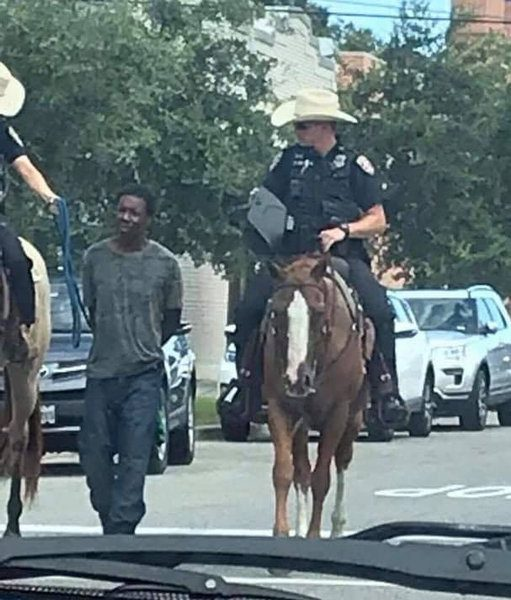 Black Man who was Humiliated by Police on Horses with a Rope is Homeless and  has Mental Disorder according to Family