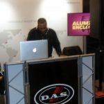Footage of Whodini's DJ Grandmaster Dee Spinning in Atlanta